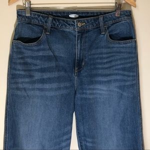 NWT Old Navy ankle boyfriend jeans cropped 12 blue